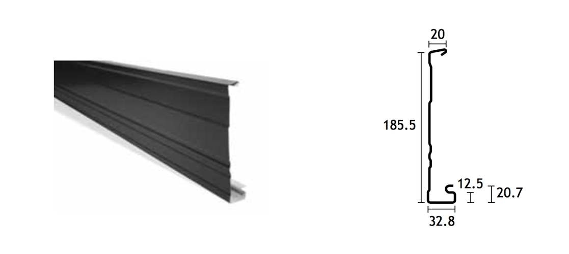 Colorbond Roof And Guttering Inspired By The Colours Of